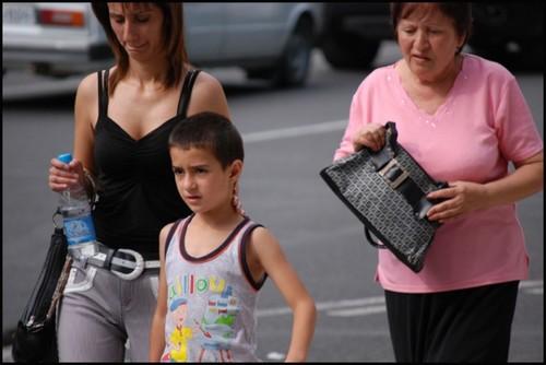 Famille en Armenie