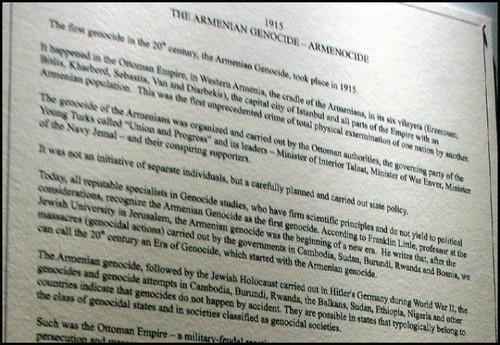 genocide armenien musee erevan