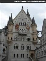 Facade chateau Neuschwanstein