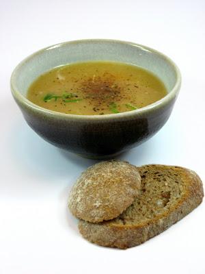 Kartoffelsuppe soupe de pommes de terre