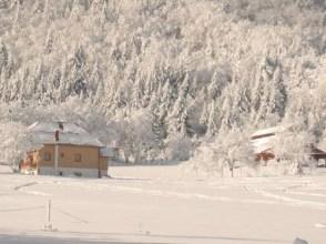 Mrzlin grad Plitvice sous la neige