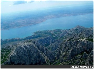 Paklenica parc national croatie panorama adriatique