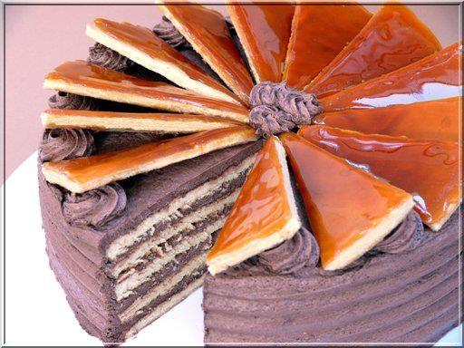 Dobos torta cuisine hongroise Budapest