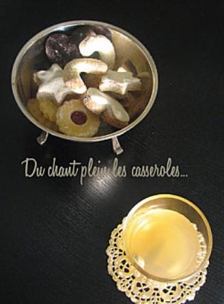 Gluhwein vin chaud blanc epice