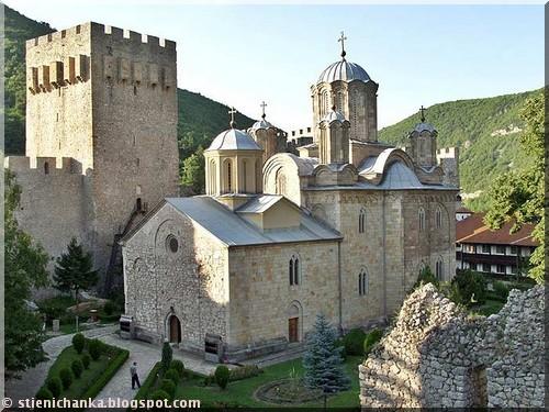 Manasija monastere serbie
