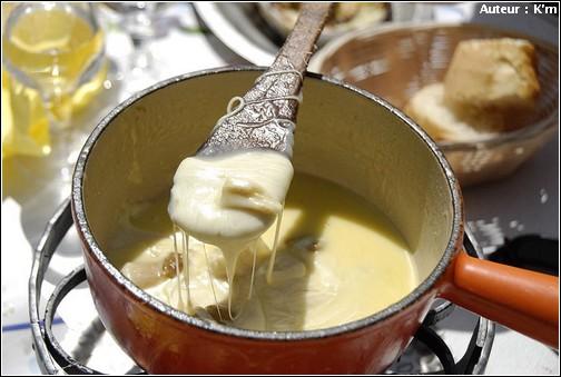 recette Fondue savoyarde au Beaufort