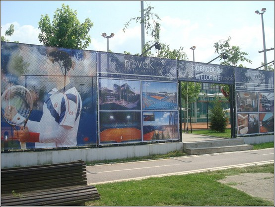 Belgrade Cours tennis Novak Djokovic