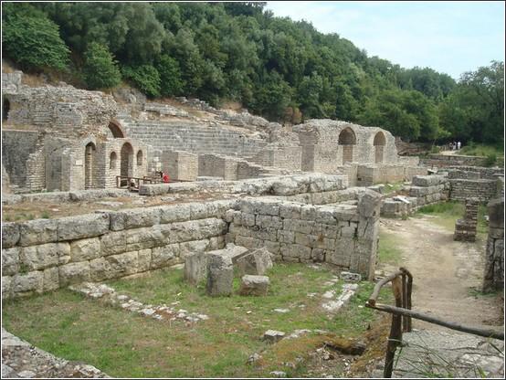Butrint Albanie Voyage de lItalie aux Balkans (Slovénie, Croatie, Serbie, Macédoine, Albanie)