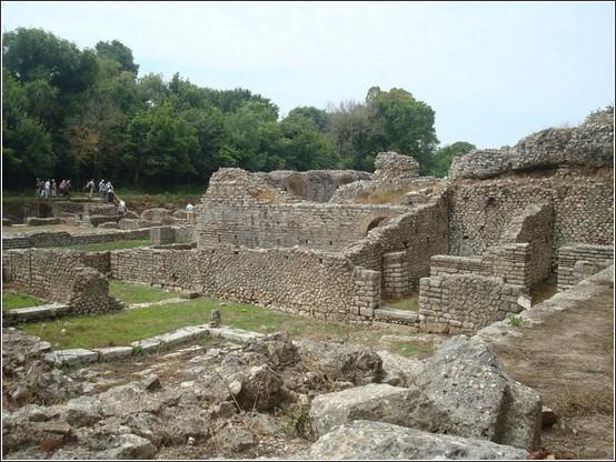 Butrint vestiges Albanie Voyage de lItalie aux Balkans (Slovénie, Croatie, Serbie, Macédoine, Albanie)