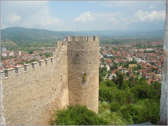 Ohrid Forteresse Tsar Samoli