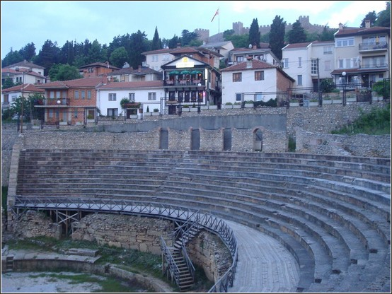 Ohrid theatre romain