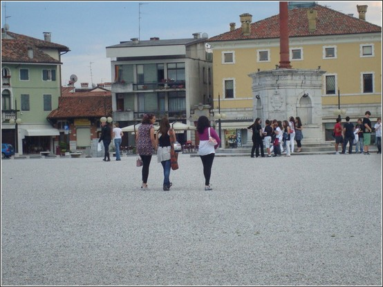 Palmanova piazza grande soiree
