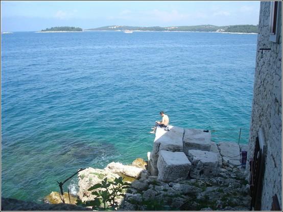 Rovinj mer adriatique