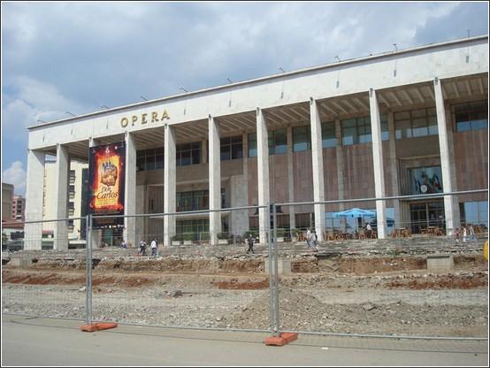 Tirana Opera Voyage de lItalie aux Balkans (Slovénie, Croatie, Serbie, Macédoine, Albanie)