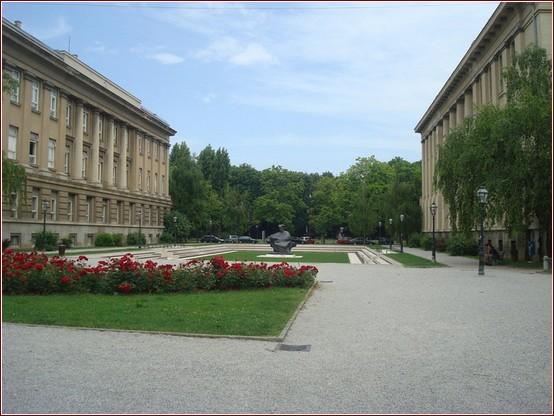 Zagreb parc jardin