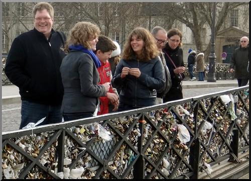 paris pont de l-archeveche cadenas 2012