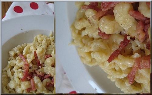 spatzle cuisine alsacienne