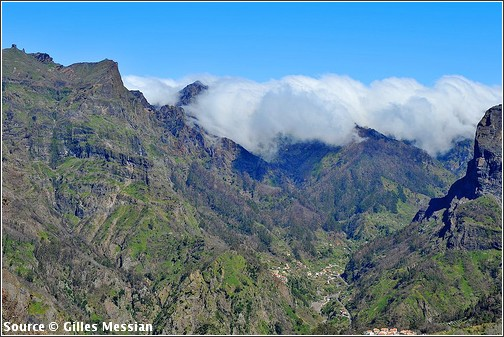 Madere  Funchal - Eira do Serrado