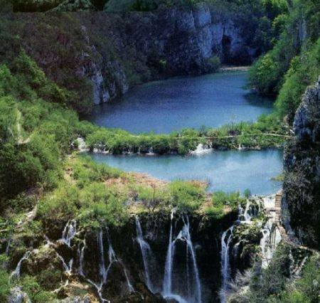 parc national de plitvice croatie