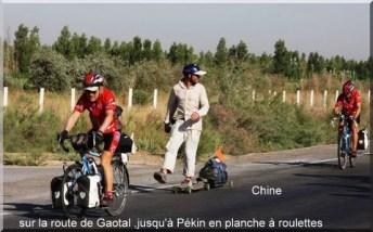 Paris pekin route de Gaotal