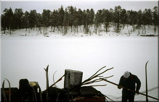 laponie finlande neige