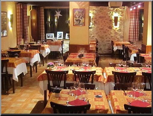 Formigueres restaurant Hotel Pecheyre