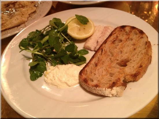 Restaurant dock kitchen anguille