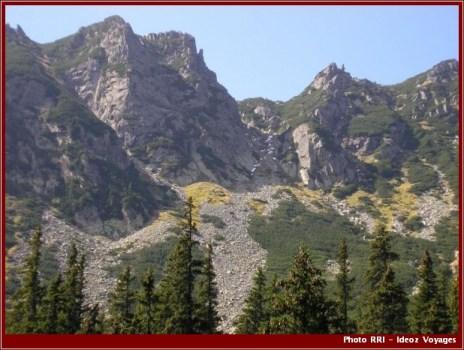 Montagnes Retezat parc national roumanie