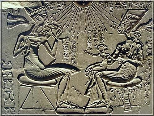 Nefertiti art egyptien