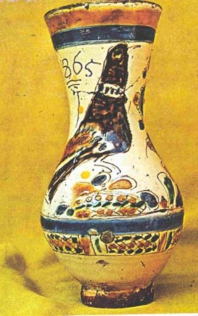 ceramique transylvanie vase