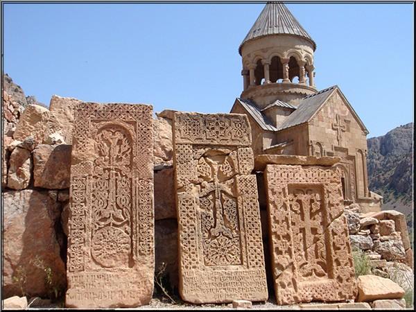 monastere noravank Armenie khachkars