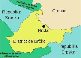 District Brcko carte