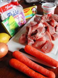 ingredients filet mignon porc coppa