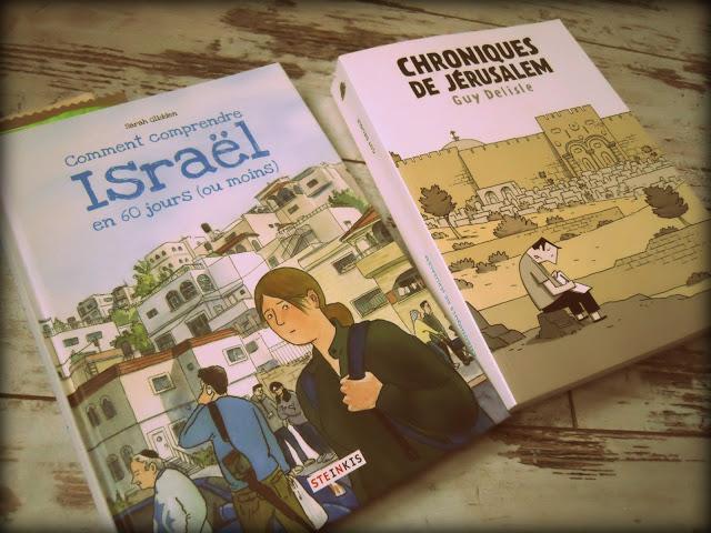 israel bande dessinee