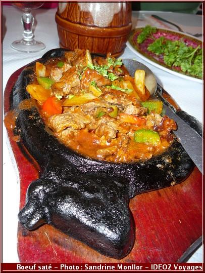 restaurant aux delices d'asie auzeville tolosane boeuf sate