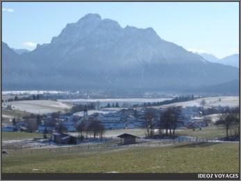 Neuschwanstein panorama environs de fuessen