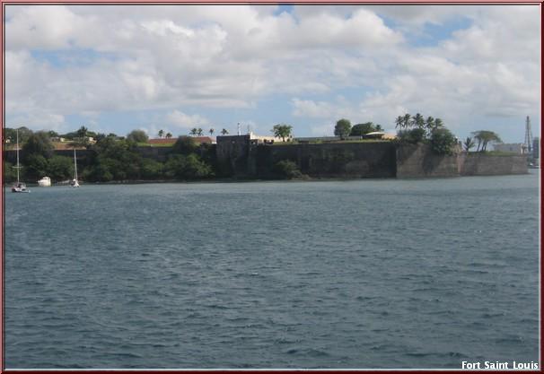 Martinique Fort Saint Louis