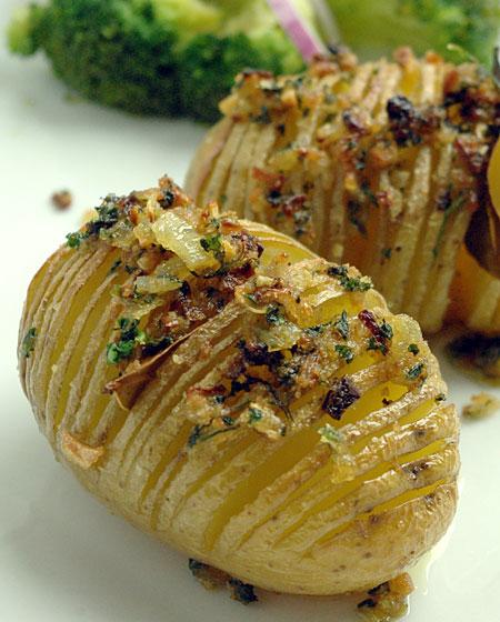 pommes de terre hasselback recette suedoise