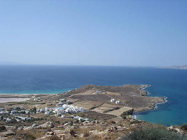 Cyclades naxos village