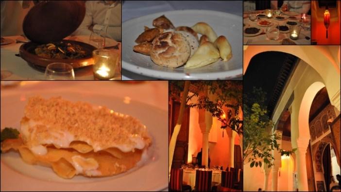 Repas marocain dar gelliz