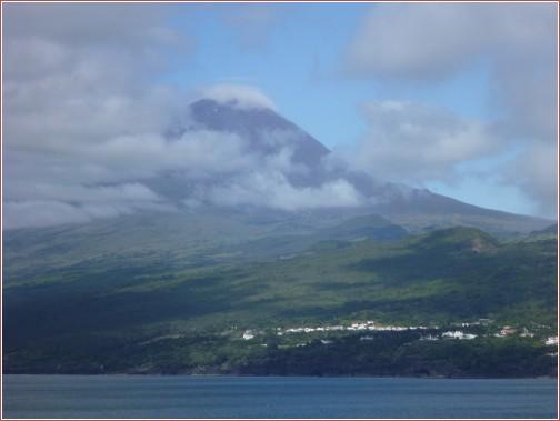 volcan ile pico portugal