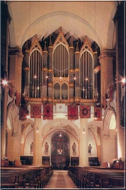 brasov orgue eglise noire