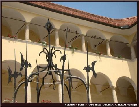 mokrice puits cours chateau slovenie