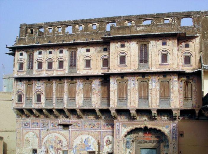 rajasthan facade palais havelis