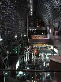 kyoto eki gare interieur