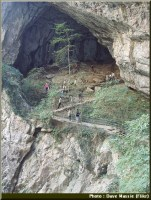 skocjan sortie grotte slovenie