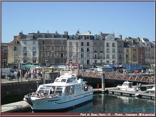 dieppe port quai henri 4