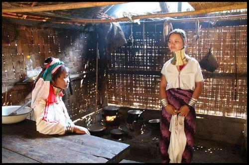 femme padaung thailande