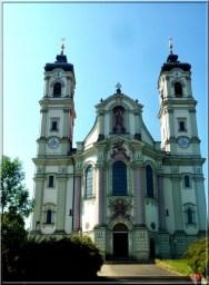 Abbaye Ottobeuren facade de face