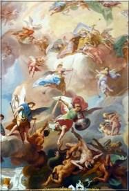 Abbaye Ottobeuren fresque plafond